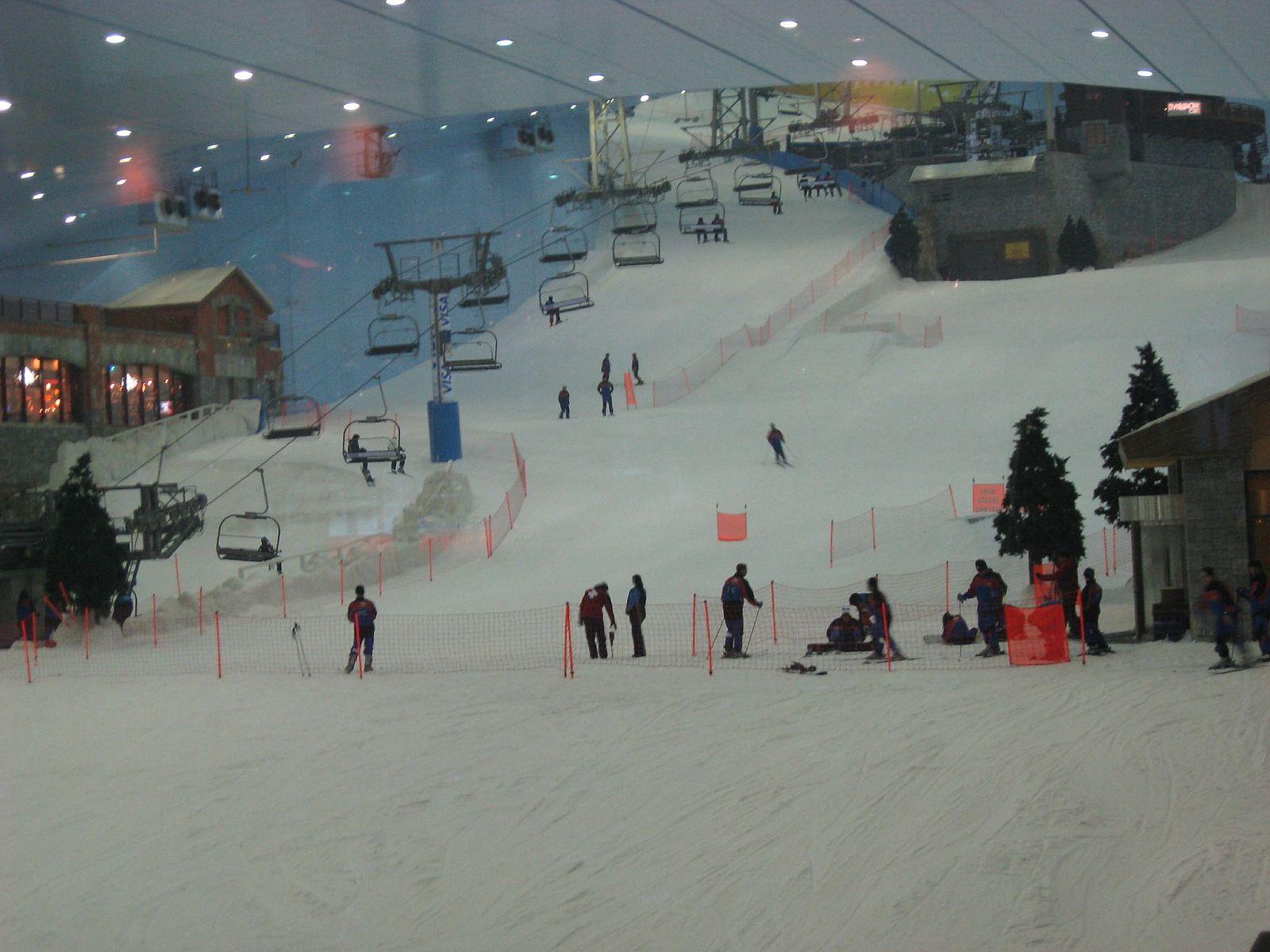 סקי בדובאי