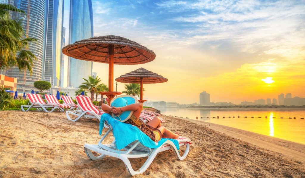 חוף הים אבו דאבי