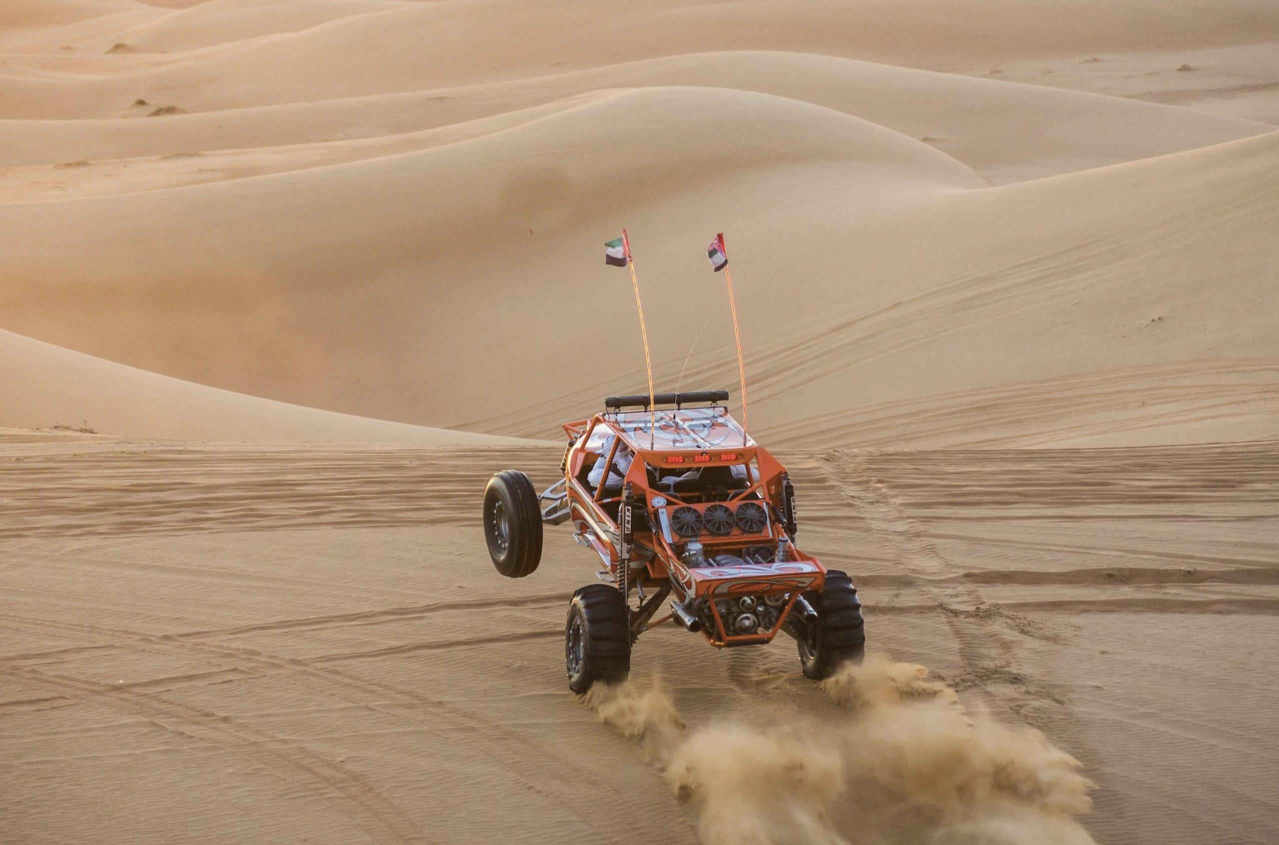 באגי במדבר דובאי