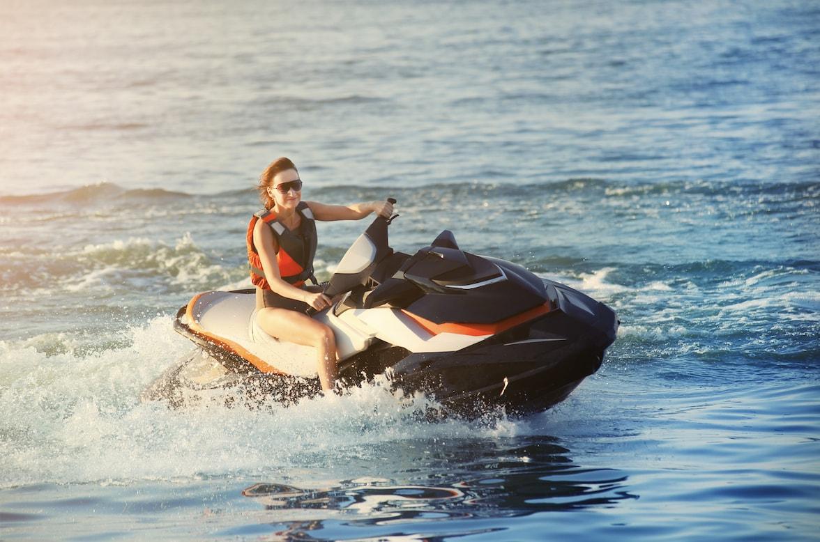 אופנוע ים דובאי