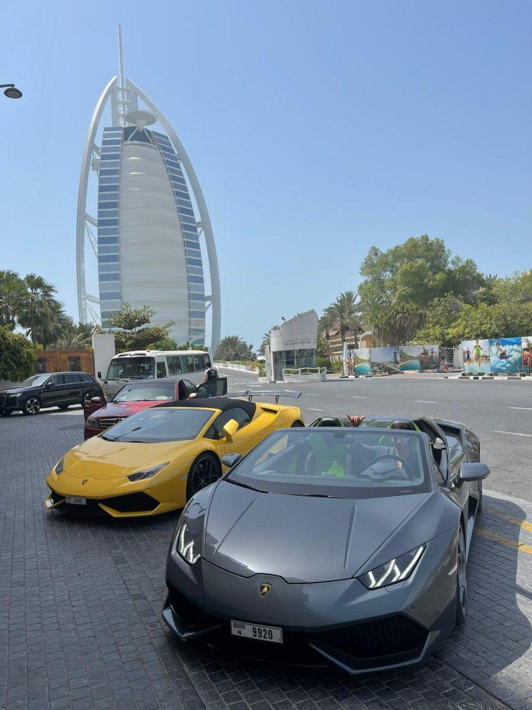 רכב יוקרה בדובאי